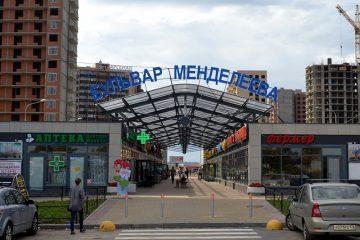Многофункциональный торговый центр в Мурино